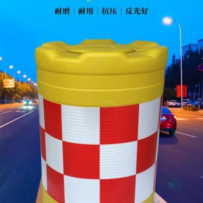 佛山大成交通设施厂家 吹塑防撞桶 吹塑防撞桶生产厂家