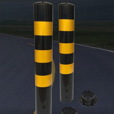 佛山大成交通设施厂家 活动式警示柱(带提环) 警示柱生产厂家
