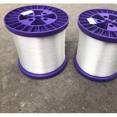 新帝克工厂量产热熔丝皮芯单丝织网固定 纺织粘合用