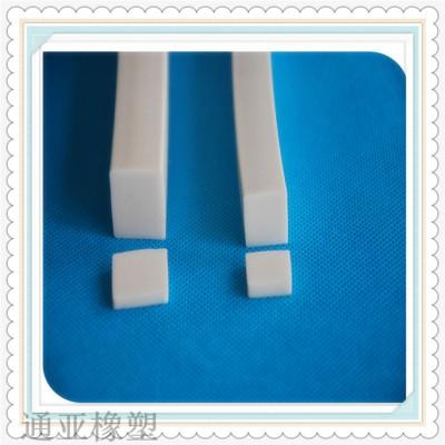 白色硅胶矩形耐高温密封条