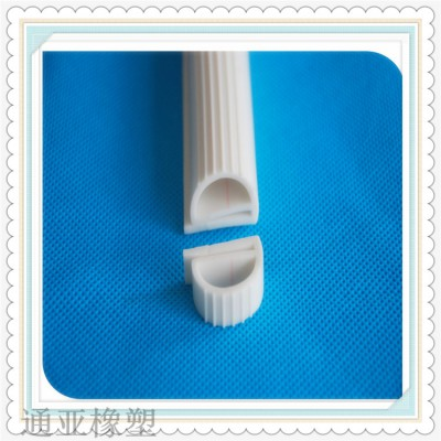 白色硅胶E型烘箱密封条