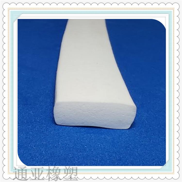 白色硅胶平板密封条