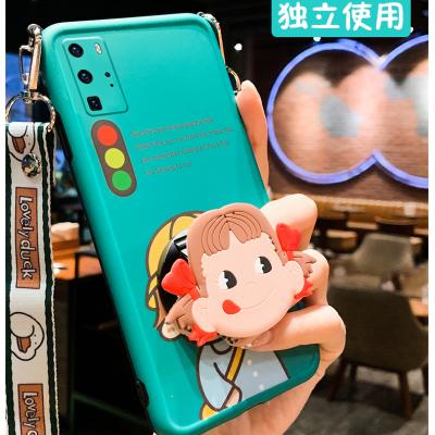 伊哲立柱式 可爱娃娃 手机壳