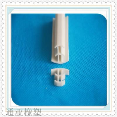白色硅胶T型填缝隙密封条