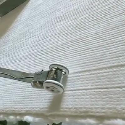 低价出售甩丝纤维毯生产线 可负责安装调试 价格面议