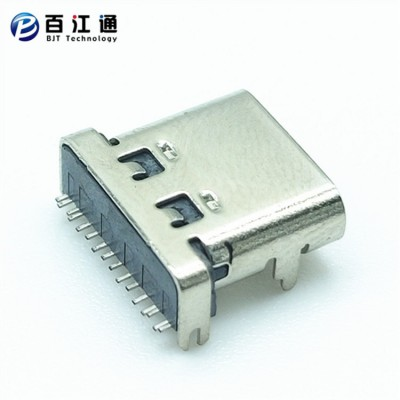 type-c16PIN母座 板上贴片SMT型 L=7.35