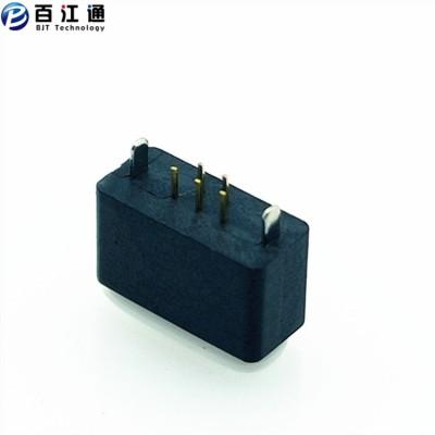 防水micro母座  5PIN 直立式插板