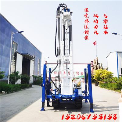 环境修复钻机 履带式土壤取样钻机 双动力头履带钻机