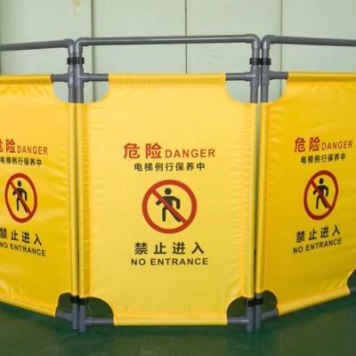 佛山大成交通设施厂家 布艺折叠式护栏 护栏生产厂家