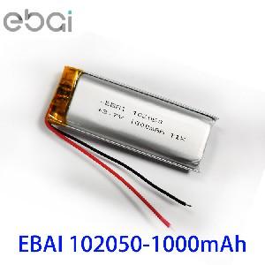 宁波102050足容1000mAh 3.7V聚合物锂电池成人用品美容成人玩具宁波