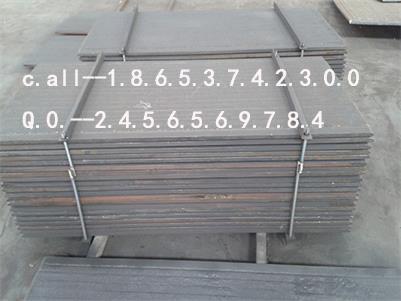 供应8+8复合耐磨钢板 碳化铬堆焊双金属复层耐磨板 耐磨性好