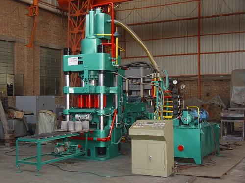 河南自动铁粉压块机500T一小时产量多少Y