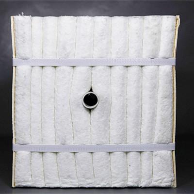 山东工业窑炉保温改造炉内衬挡火陶瓷纤维模块