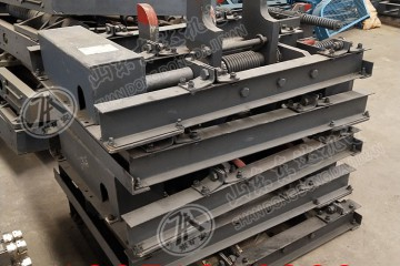 600mm轨距气动卧闸 QWZC6型羊角阻车器