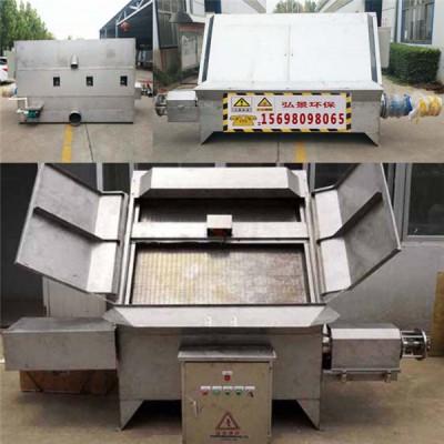 斜筛式分离机保养操作视频、安装调试厂家发货现场