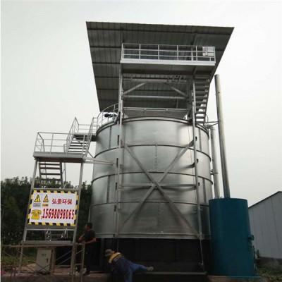 鸡粪发酵罐30立方技术参数及畜禽粪便清理设备价格