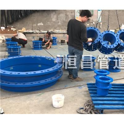 天津双法兰传力伸缩器DN500mm出口品质保证