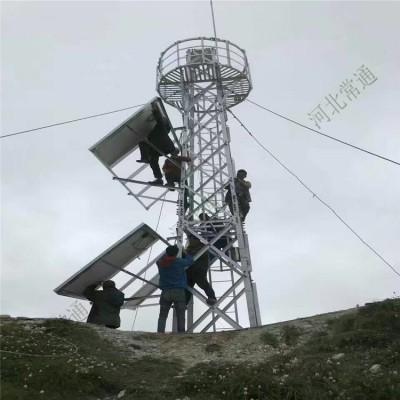 森林防火瞭望塔 8米监控塔 定制批发厂家