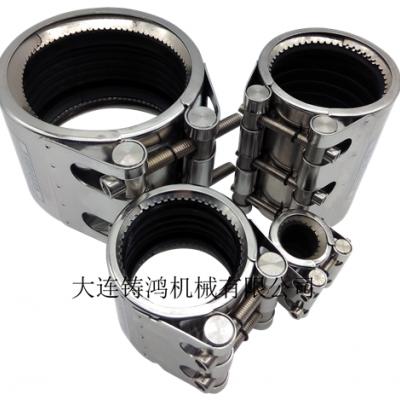 不锈钢管道连接器-北京齿环型管道连接器