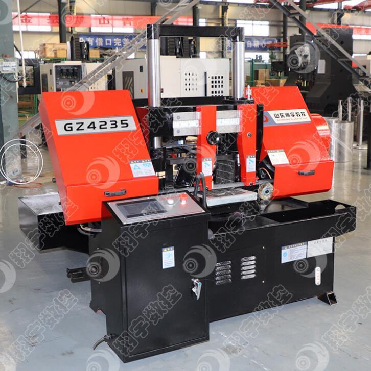 GZ4235自动送料机锯床 价格优惠,可根据客户需求定制