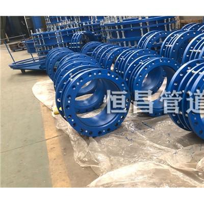云南钢制伸缩接头DN150mm安装方法