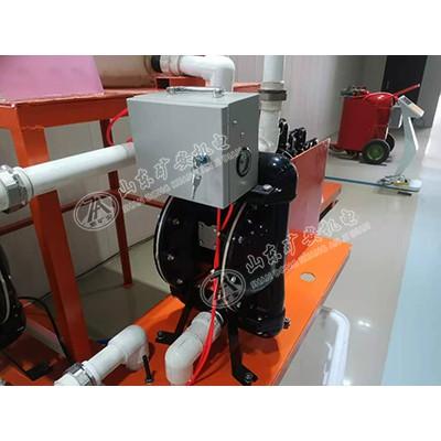 全自动隔膜泵,BQG710/0.1Z矿用自动气动隔膜泵