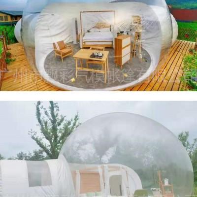 充气泡泡屋帐篷景区充气透明泡泡屋充气猪猪岛乐园