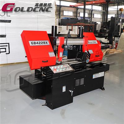 高德数控GB4228X角度带锯床 德国施耐德电气 性能稳定