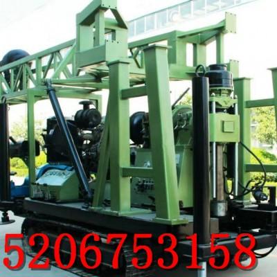 拖车磨盘钻机 深井钻机 大口井钻机 300米磨盘钻机