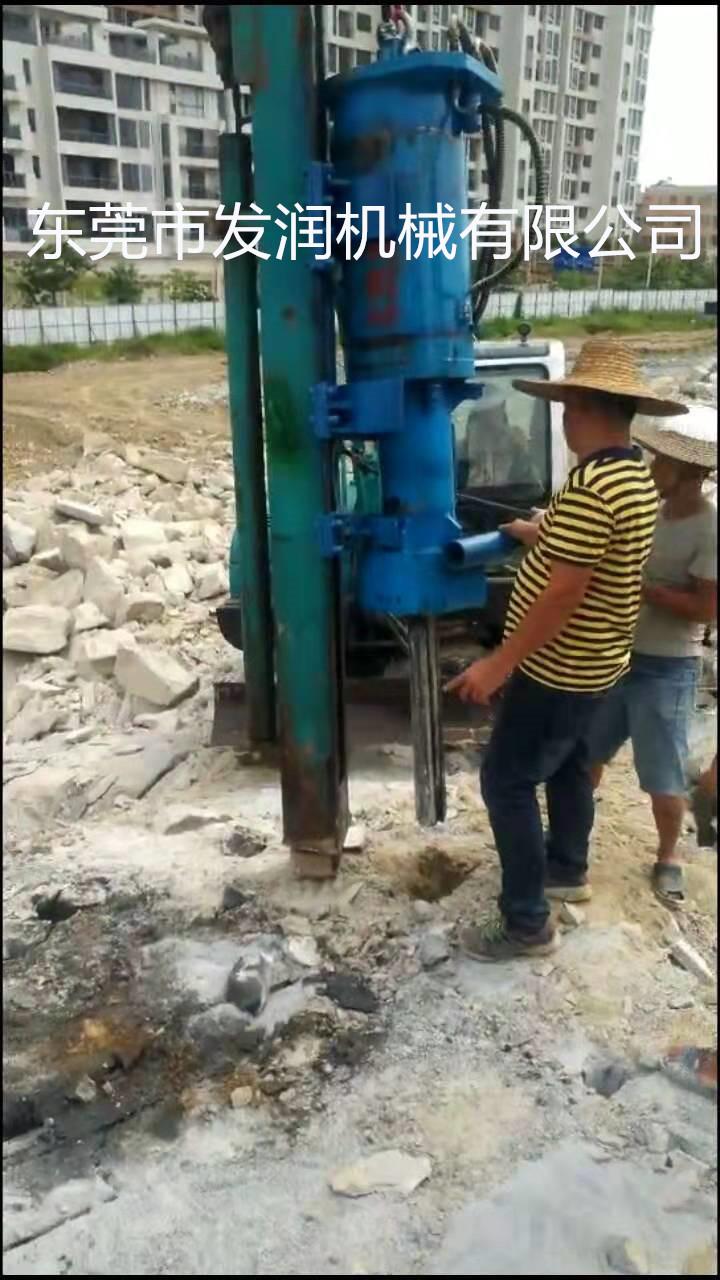 郑州花岗岩快速分裂设备静态液压破石机放心使用