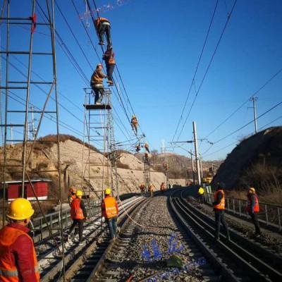 钢管梯车 防坠落检修梯车 铁路检修钢管梯车可定制