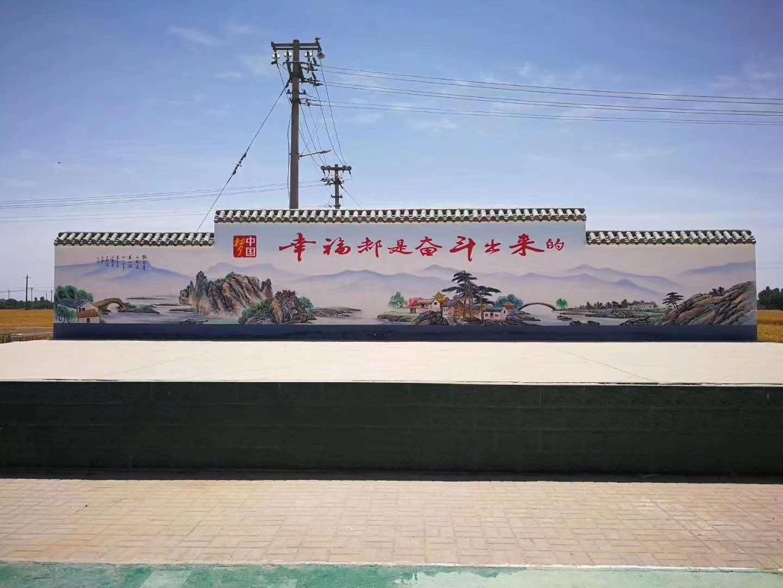 南充墙面绘画广告看传承如何传承