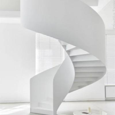 旋转楼梯需要多大的空间 好做吗