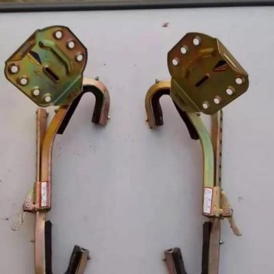 电力爬杆器 电工铁鞋 登杆脚扣