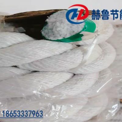 陶瓷纤维扭绳,陶瓷纤维扭编绳,耐火陶瓷纤维扭绳
