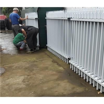 锌钢围墙护栏厂家 热镀锌栏杆安装