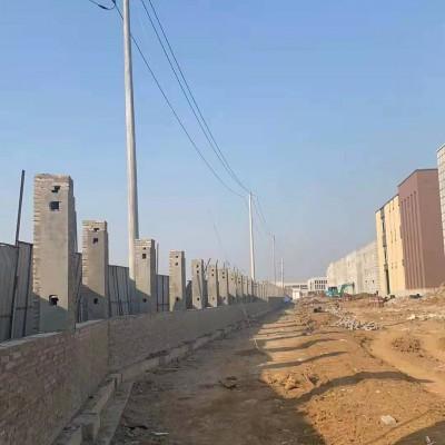 宿迁围墙护栏厂家,锌钢栏杆定制安装