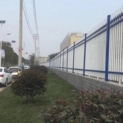 宿迁围墙护栏厂家 锌钢栏杆定制