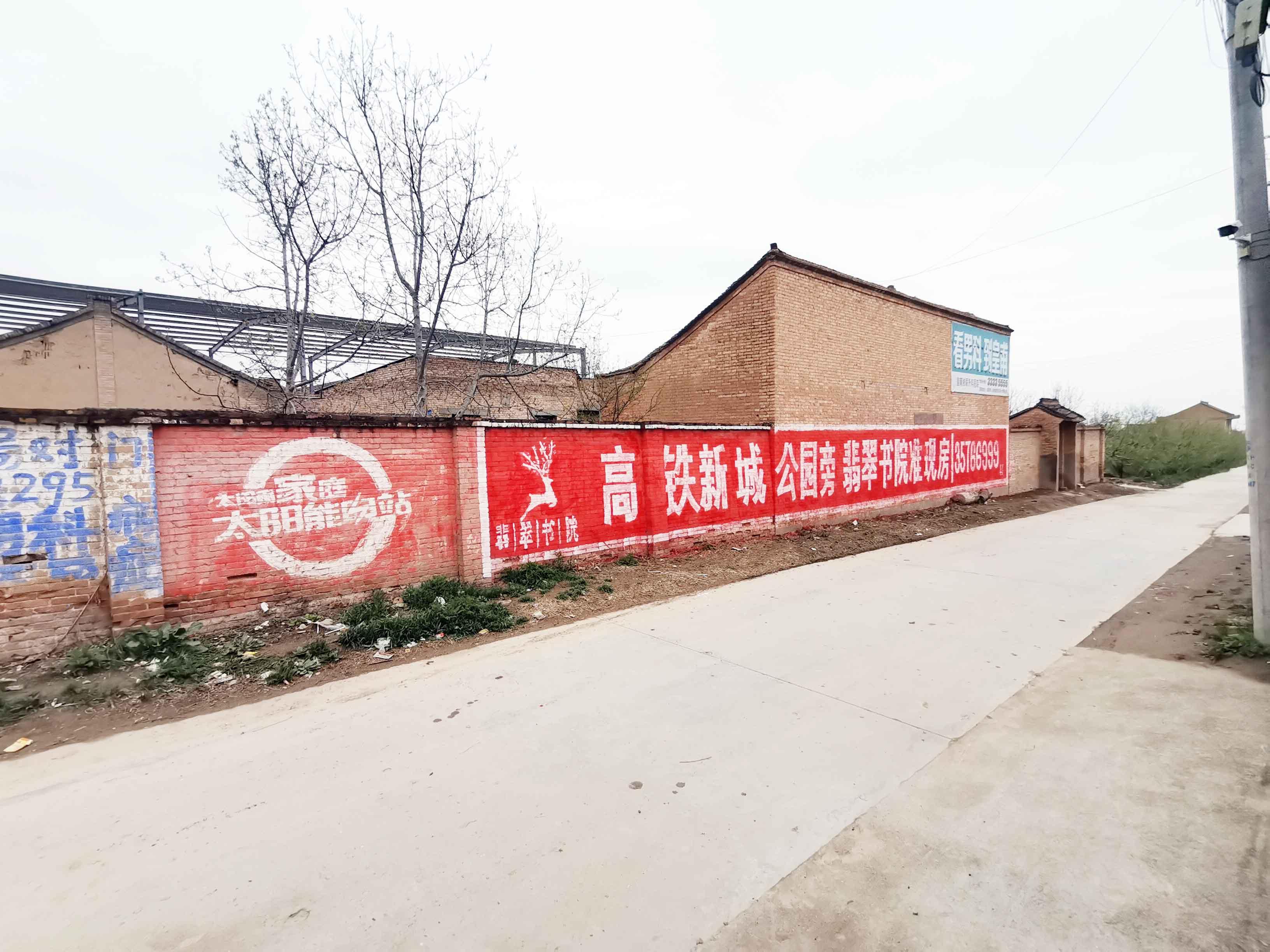 澄城肥料墙体广告 补习学校墙体广告 亿达墙体广告