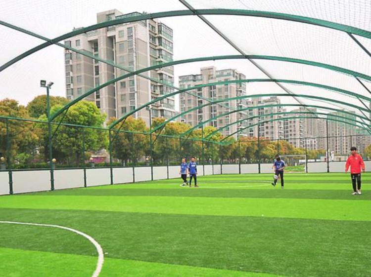 太原笼式球场围网 排球场隔离网 网球场勾花网
