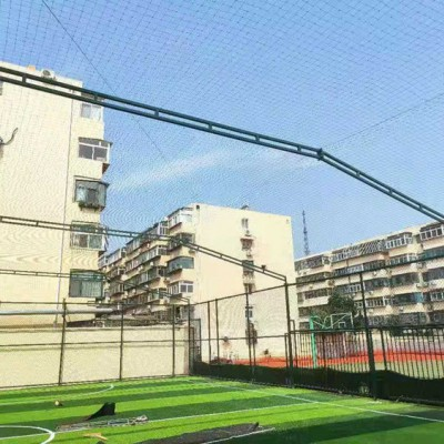 泰安勾花网笼式足球场围网 排球场隔离网 体育围网