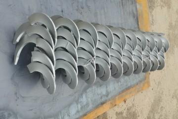扬盛机械螺旋叶片价格,低价热销,现货供应